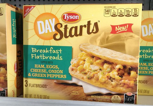 Tyson Day Starts Breakfast Flatbread