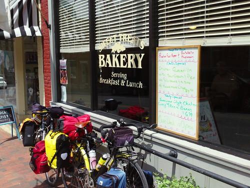 Sweet Treats and bikes in lexington VA