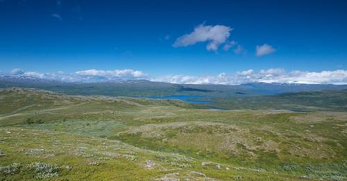 High above Kjelvatnet