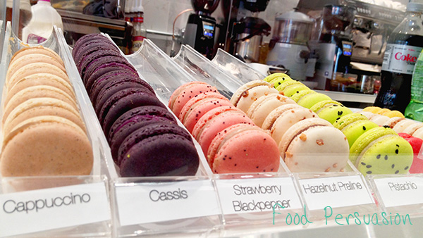 Faubourg Bakery macarons