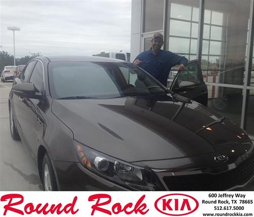 Thank you to Brett Brown on your new 2013 #Kia #Optima from Derek Martinez and everyone at Round Rock Kia! #LoveMyNewCar by RoundRockKia