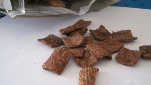 General Mills Chocolate Toast Crunch Cereal Cocoa bits right out of the bag