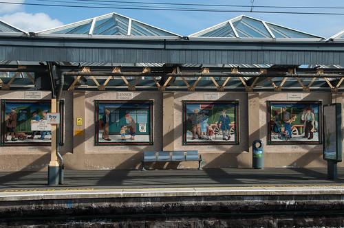 Bray trainstation by ~ Marjolein ~