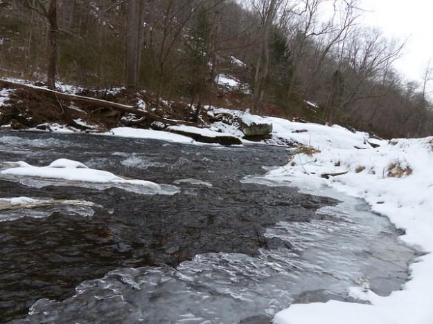 Icy Riffle on the Gunpowder River