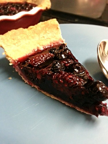 blackberry jello pie by pipsyq