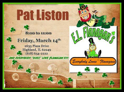 Pat Liston 3-14-14