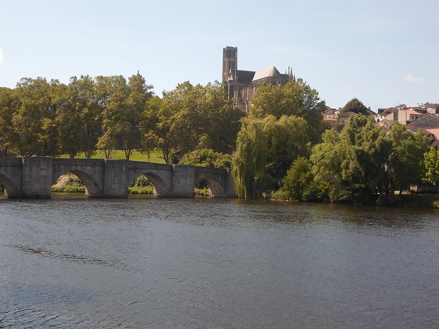 Pont Limoges and Cathedral