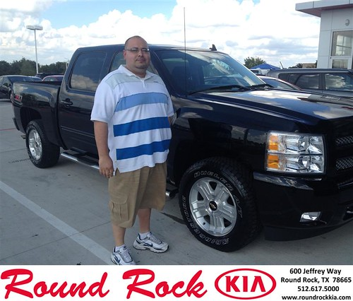 Thank you to Chris Chavez on your new 2011 #Chevrolet #Silverado 1500 from Bobby Nestler and everyone at Round Rock Kia! #RollingInStyle by RoundRockKia