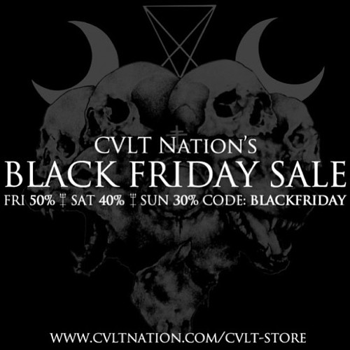 Cvlt Nation Black Friday Sale