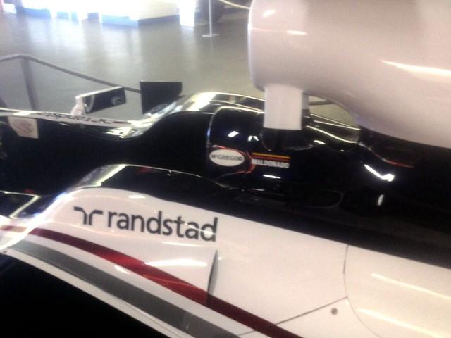 Pastor Maldonado's FW33 Williams at The Donington Collection