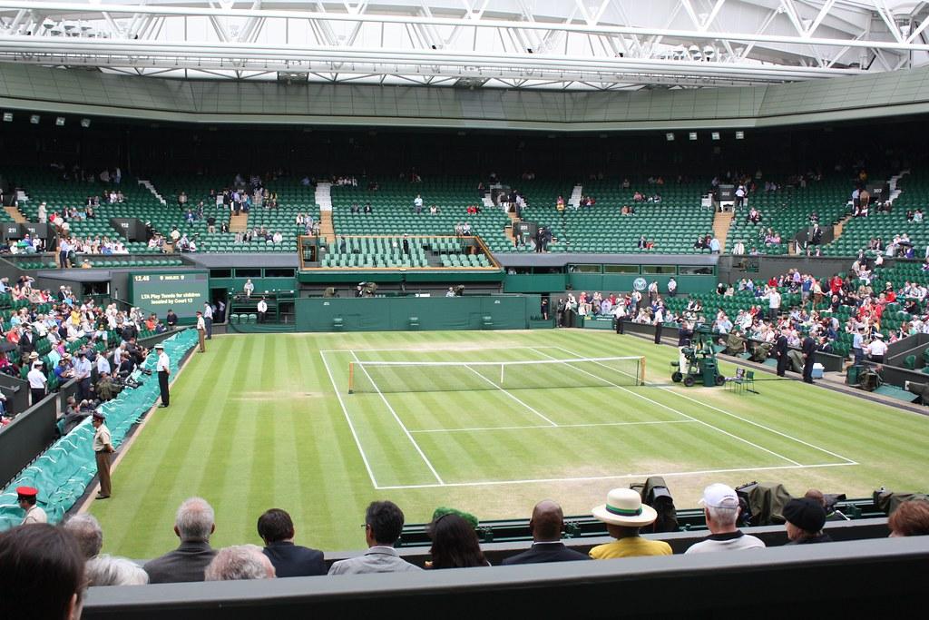 Wimbledon view of Centre Court