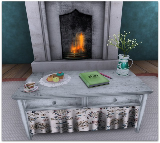 Dragonfly Fireplace