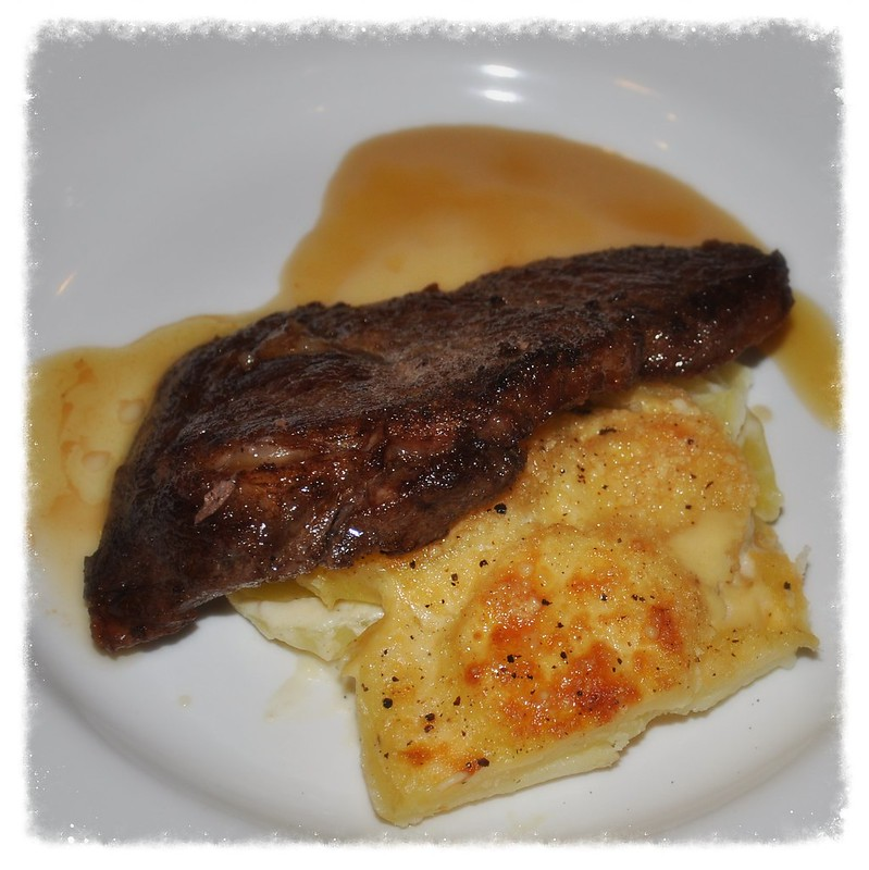 Steak and Potatoes au Gratin