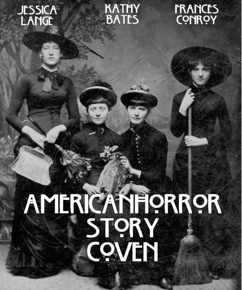 Three witches in American Horror Story: Coven