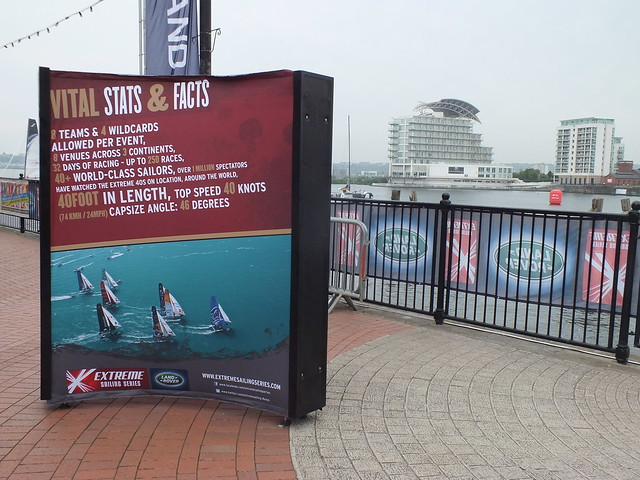 Extreme Sailing Series - Cardiff 2013