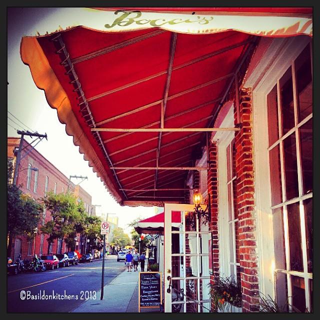 Oct 2 - personal choice {my choice for dinner} Italian Restaurant in Charleston. #photoaday #dinner #boccis #charleston #southcarolina