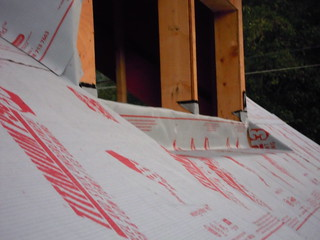 Oct 18 - west dormer roof prep