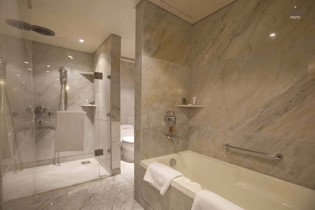 Separate Bathtub and Shower Stall