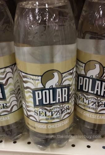 Polar Seltzer Fudge Cheesecake