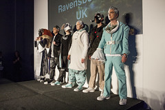 Catwalk show for Couture in Orbit
