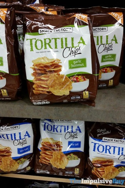 Snack Factory Tortilla Chips (Garlic Hummus and Sea Salt)