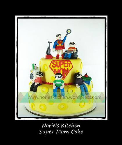 Norie's Kitchen - Super Mom Cake by Norie's Kitchen