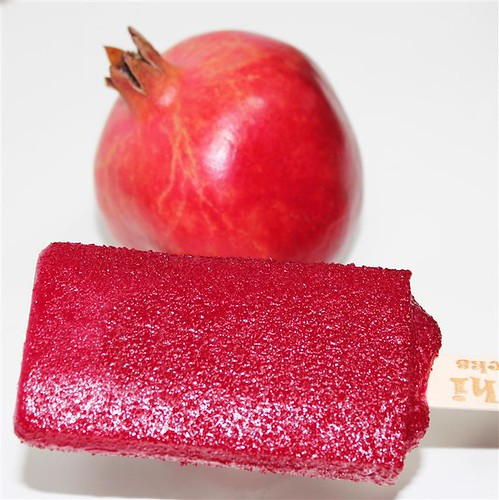 Pomegranate Ice Cream by Freshi by Freshi Ice Sticks Jeddah Saudi Arabia