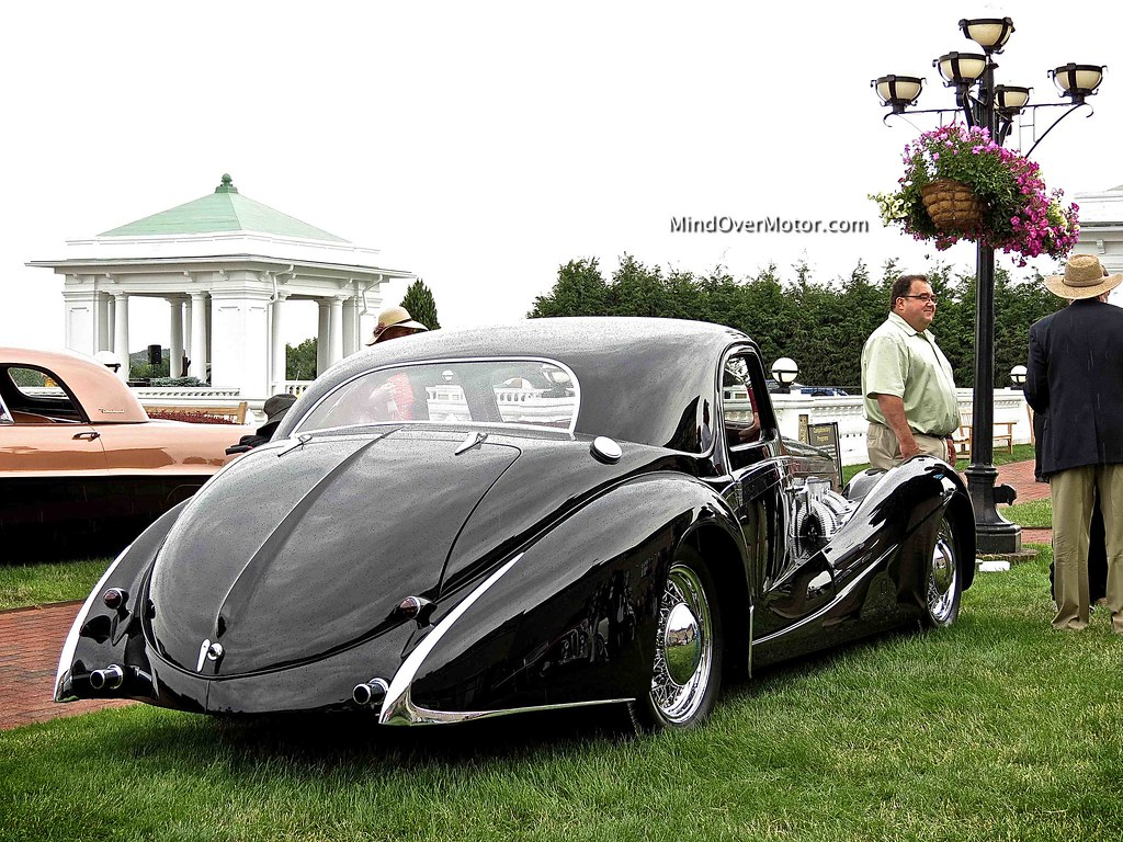 1937 Delage D8 120SS Aerodynamic Coupe