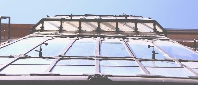 glass balconies ciudad rodrigo in spain