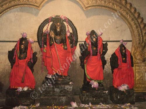 Chaturkala Bhairavar. Thiruvisanallur,SivayoginatharTemple