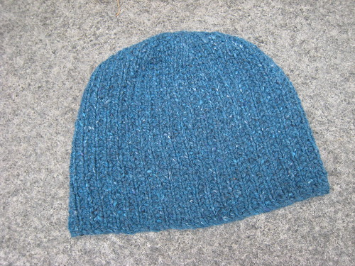 Hat_2013_02_27_rice-stitch_teal-tweed_1