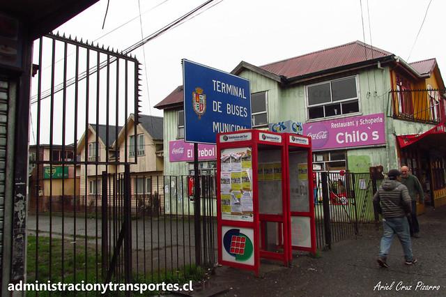 Crisis Chiloé: Terminal Municipal de Castro cerrado