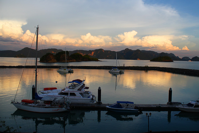 View from my hotel room - Langkawi