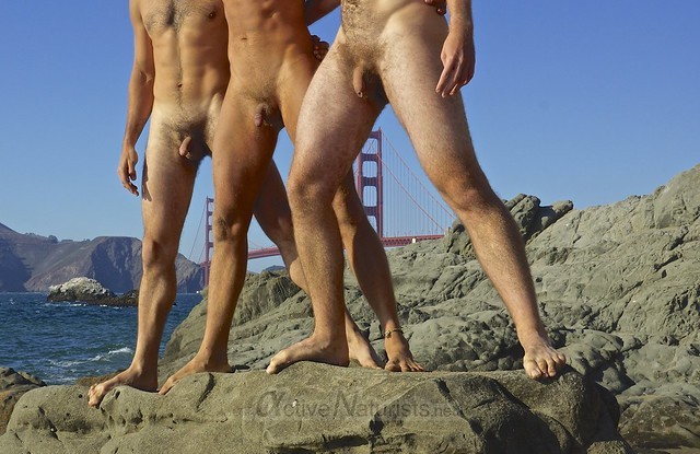 naturist 0001 Baker Beach, San-Francsico, CA, USA