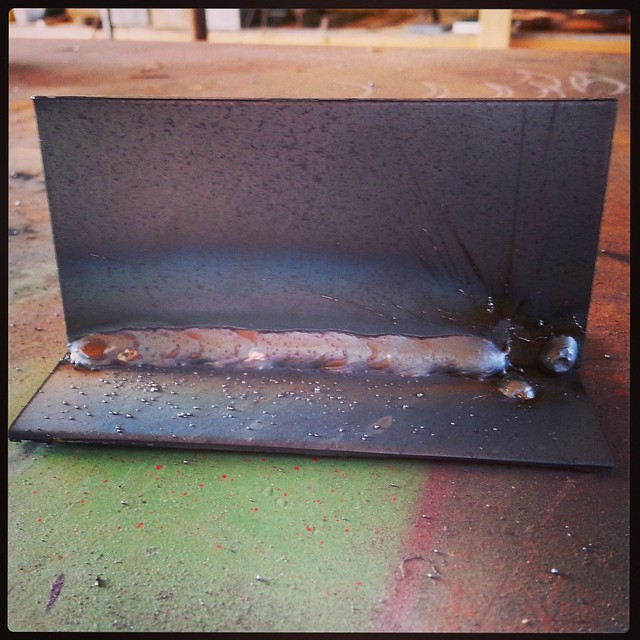 first good weld