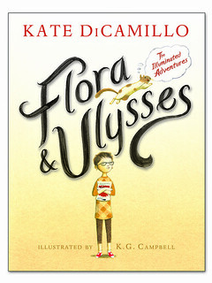 Kate DiCamillo and K G Campbell, Flora & Ulysses