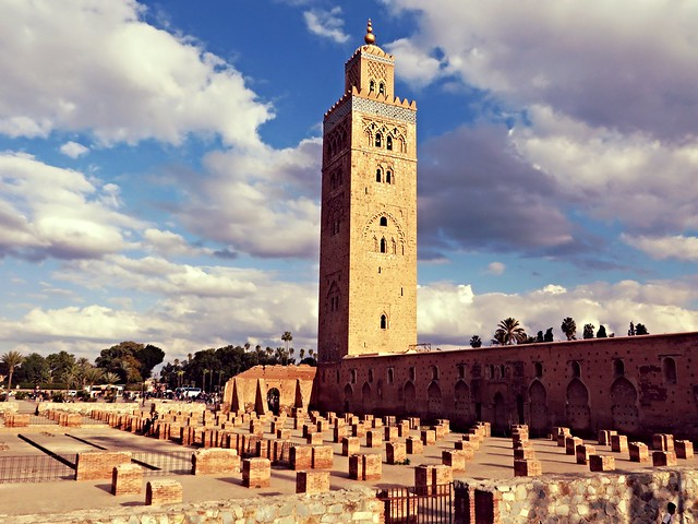 Koutoubia minaret, marrakech, things to do in marrakech