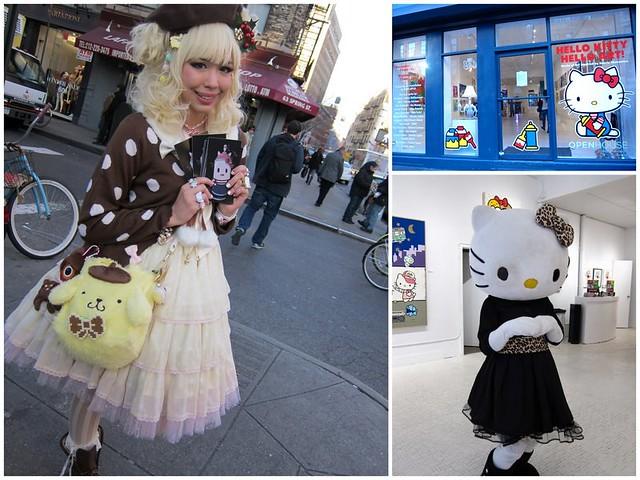 New York expo Hello Kitty
