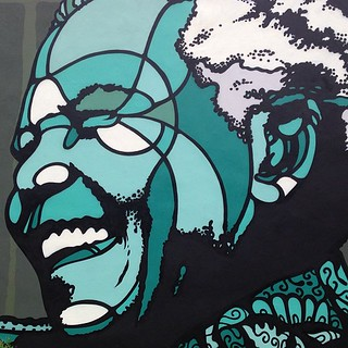 Nelson Mandela by David Flores