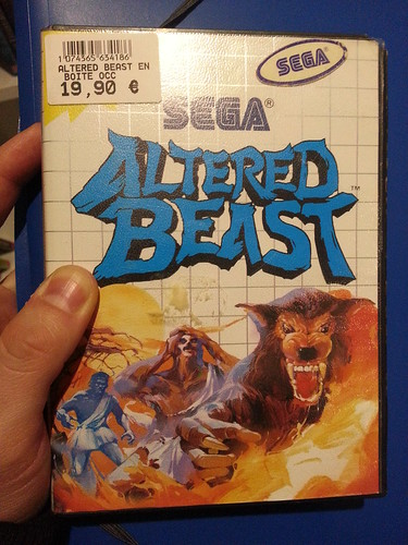 Altered Beast Sega Master System