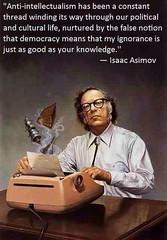 Listen to Isaac Asimov