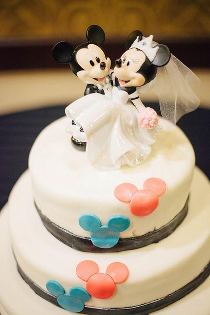 Raina + Michelle Disney Cake!
