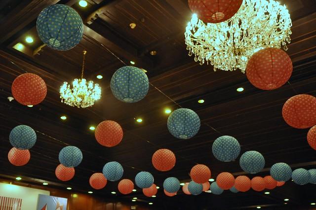 Polka Dotted Lanterns