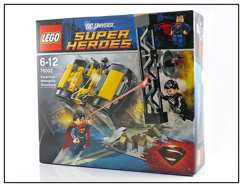 LEGO Super Heroes DC Universe 76002 Superman Metropolis Showdown 02