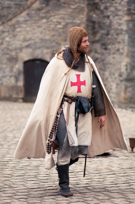 medieval show at Bouillon Castle
