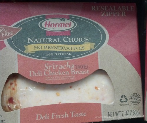 Hormel Natural Choice Sriracha Deli Chicken Breast