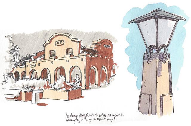 davis amtrak station