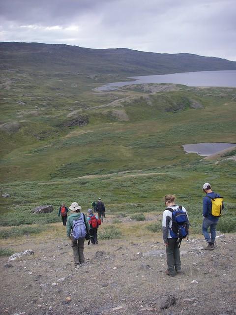69. IGERT hike in Kanger