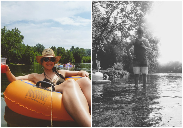 tubing down the shenandoah river