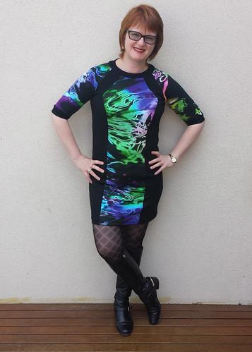 Lekala 4199 dress